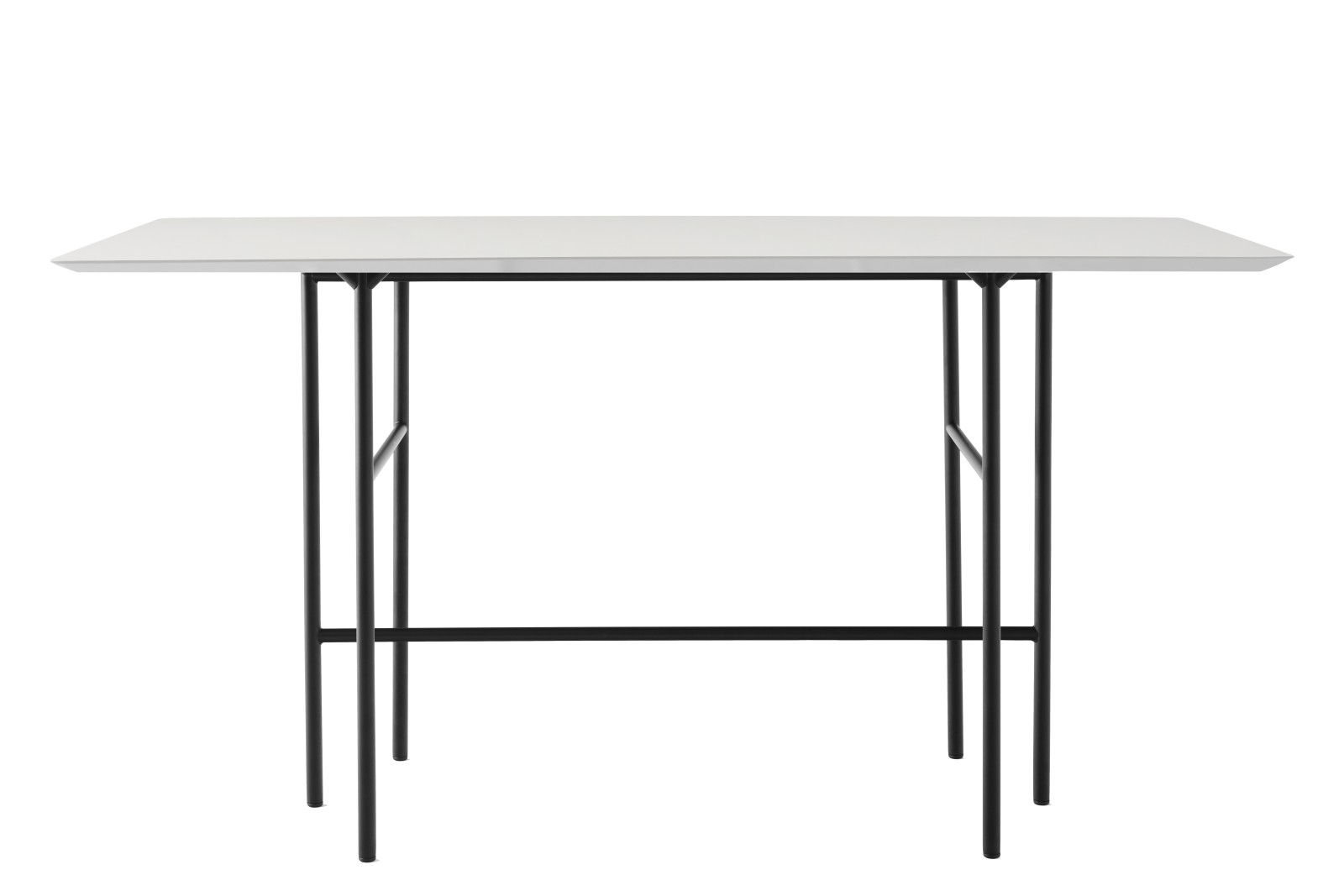 Snaregade Rectangular Bar Table Black/Mushroom