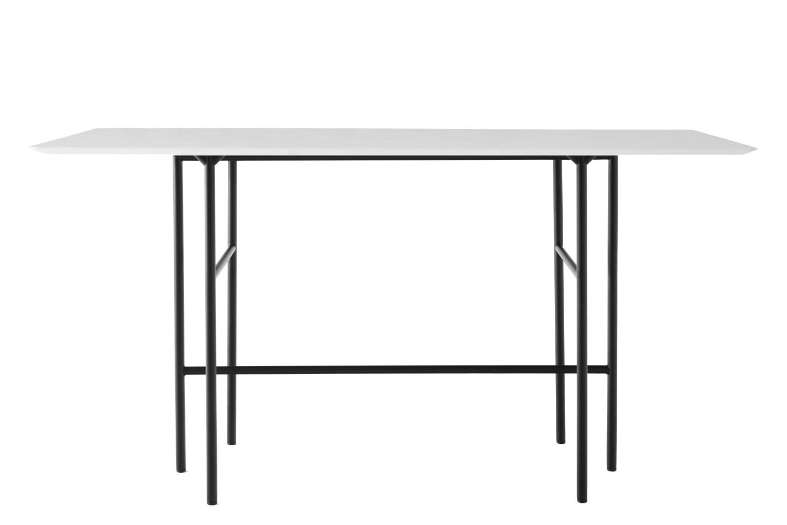 Snaregade Rectangular Bar Table Black/Light Grey