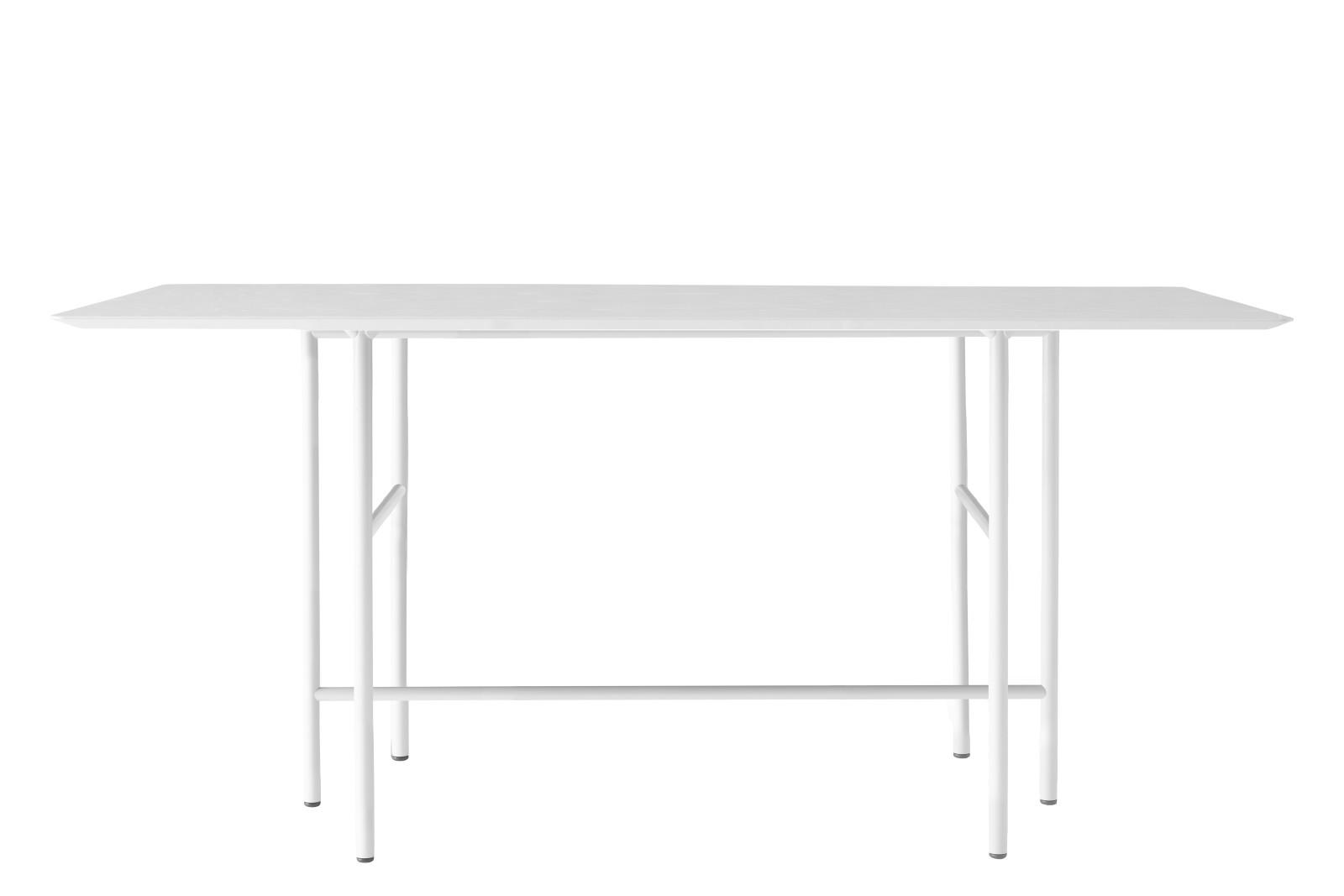 Snaregade Rectangular Counter Table Light Grey/Light Grey