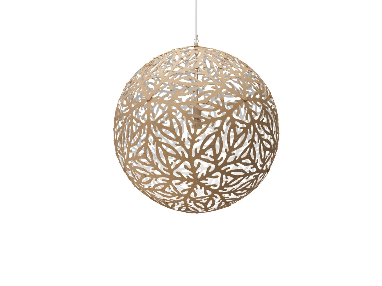 Sola Pendant Light White 1 Side, Medium