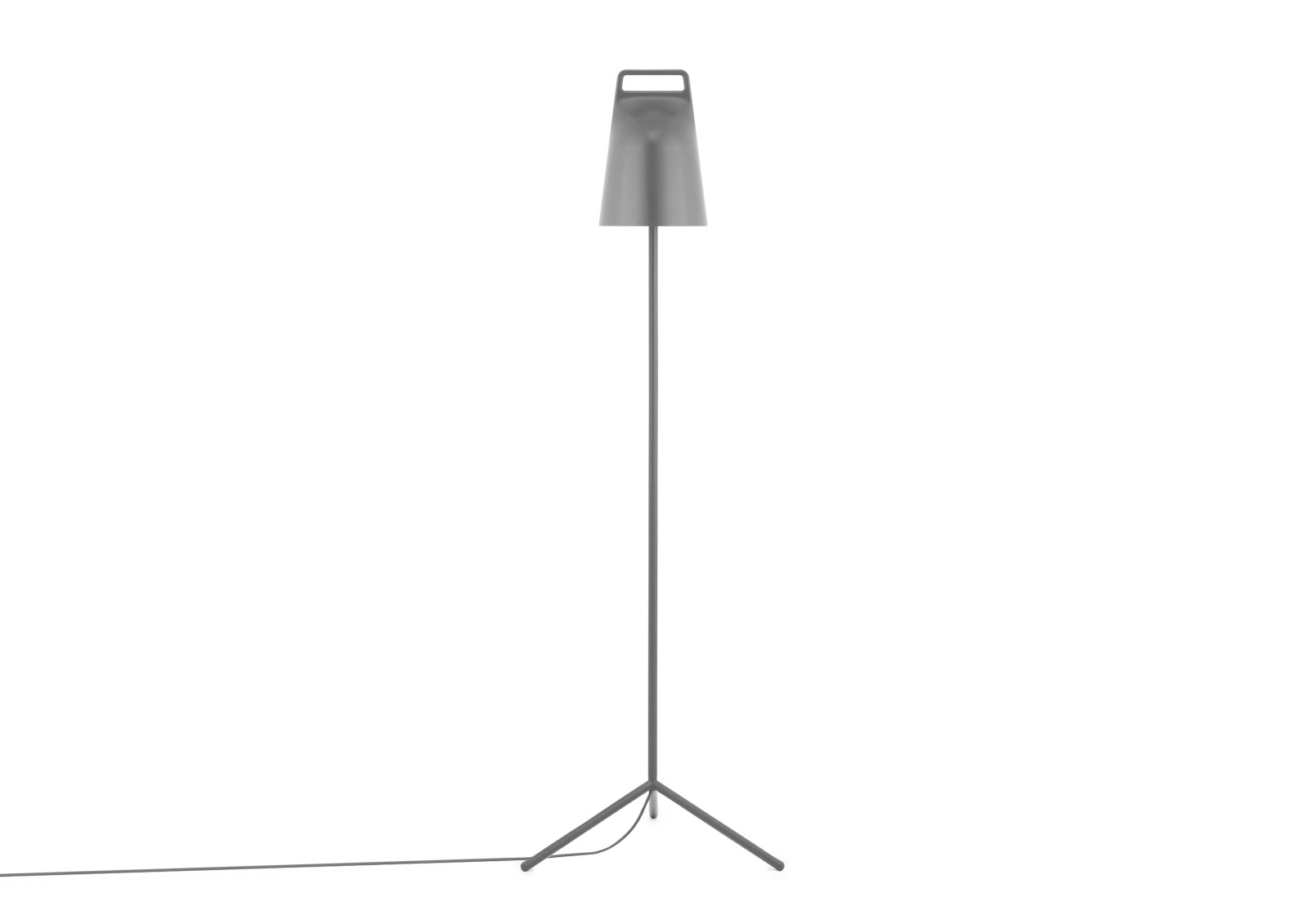 Stage Floor Lamp Grey