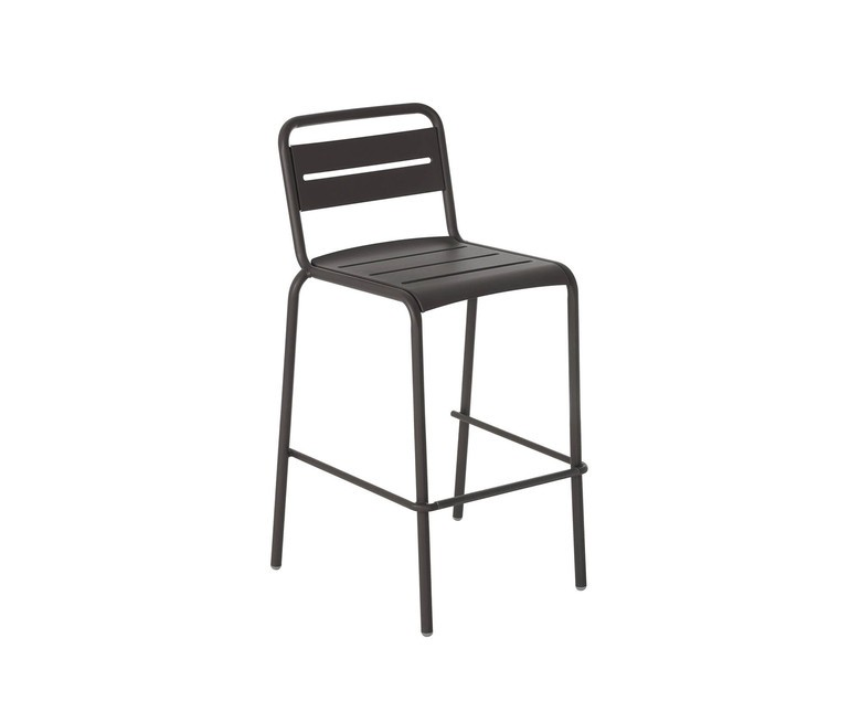 Star Barstool - Set of 4 Black 24