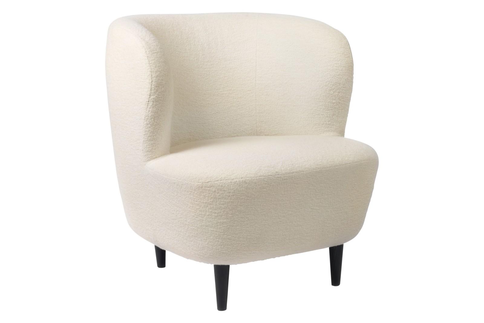 Stay Lounge Chair - Small, Wood base Gubi Wood American Walnut, Price Grp. 01