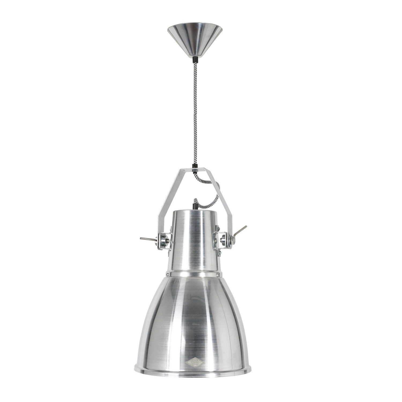 Stirrup Bracket Pendant Light Natural Aluminium
