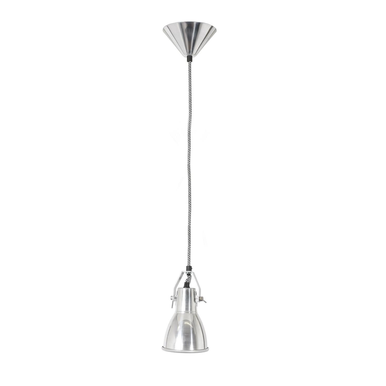 Stirrup Pendant Light Natural Aluminium, Small
