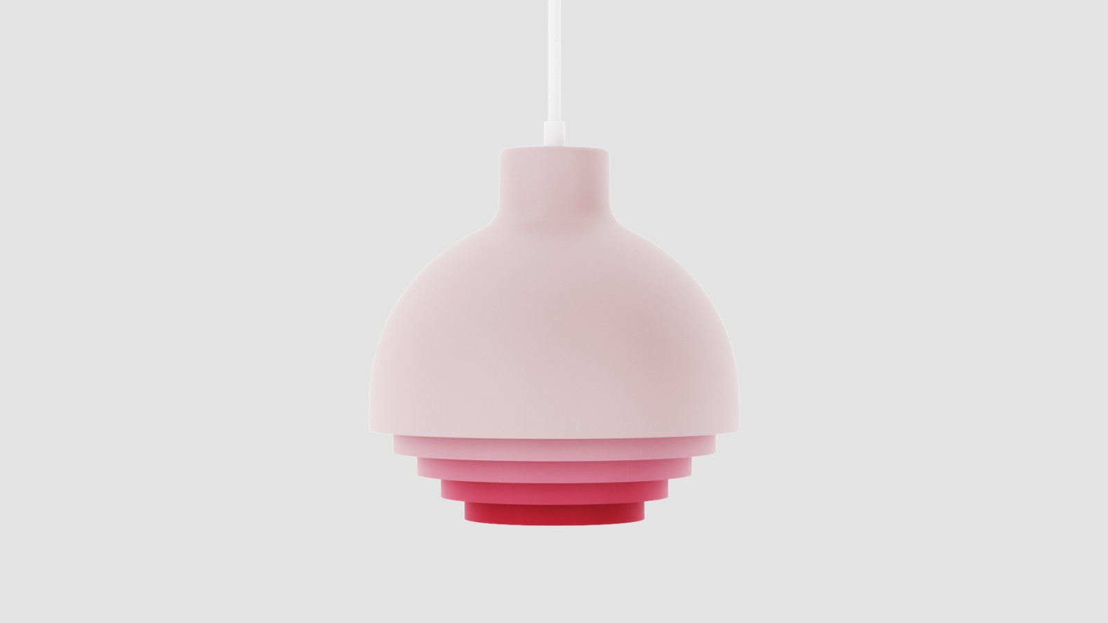 Strata Pendant Light Strata Pendant Light Pink