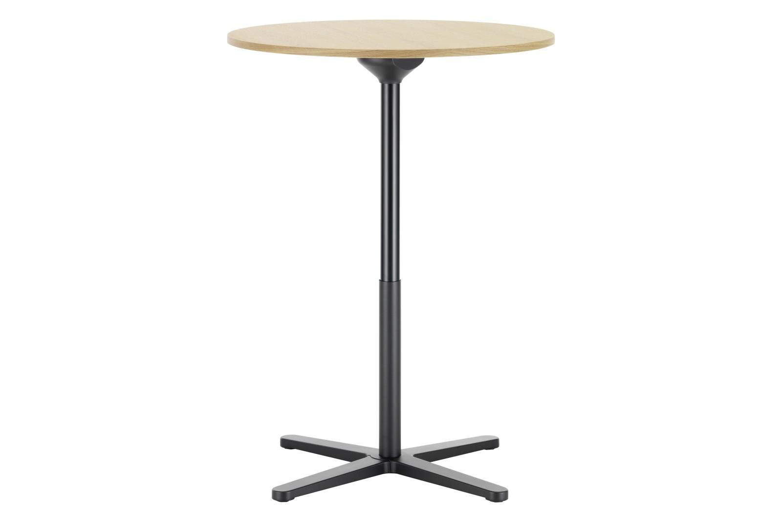 Super Fold Round Stand-up Table Light oak veneer