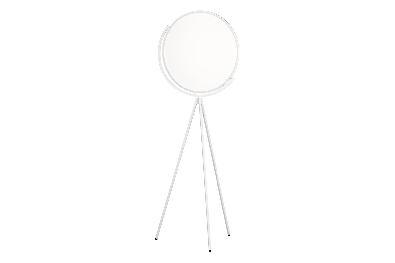 Superloon Floor Lamp Metal Matt White