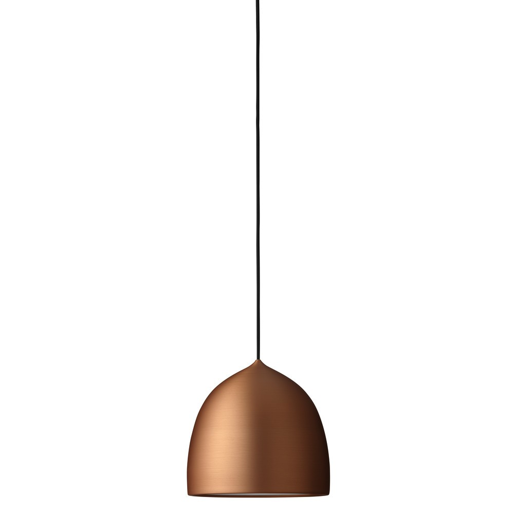 Suspence Pendant Light P1 Small, Polished copper, 3 m cord