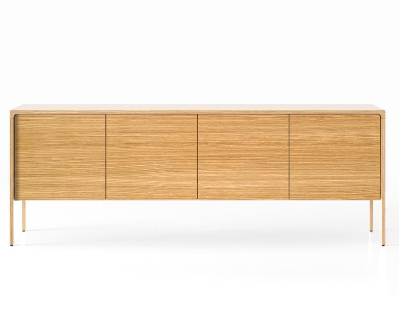 TAC215 Tactile Sideboard Whitened Oak, Super-Matt Oak