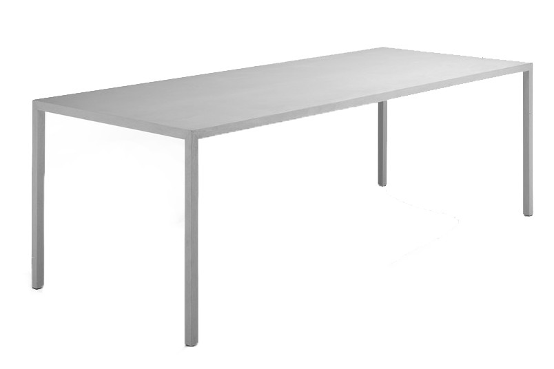 Tense Material H73 Dining Table Reconstructed Stone, 120x400cm