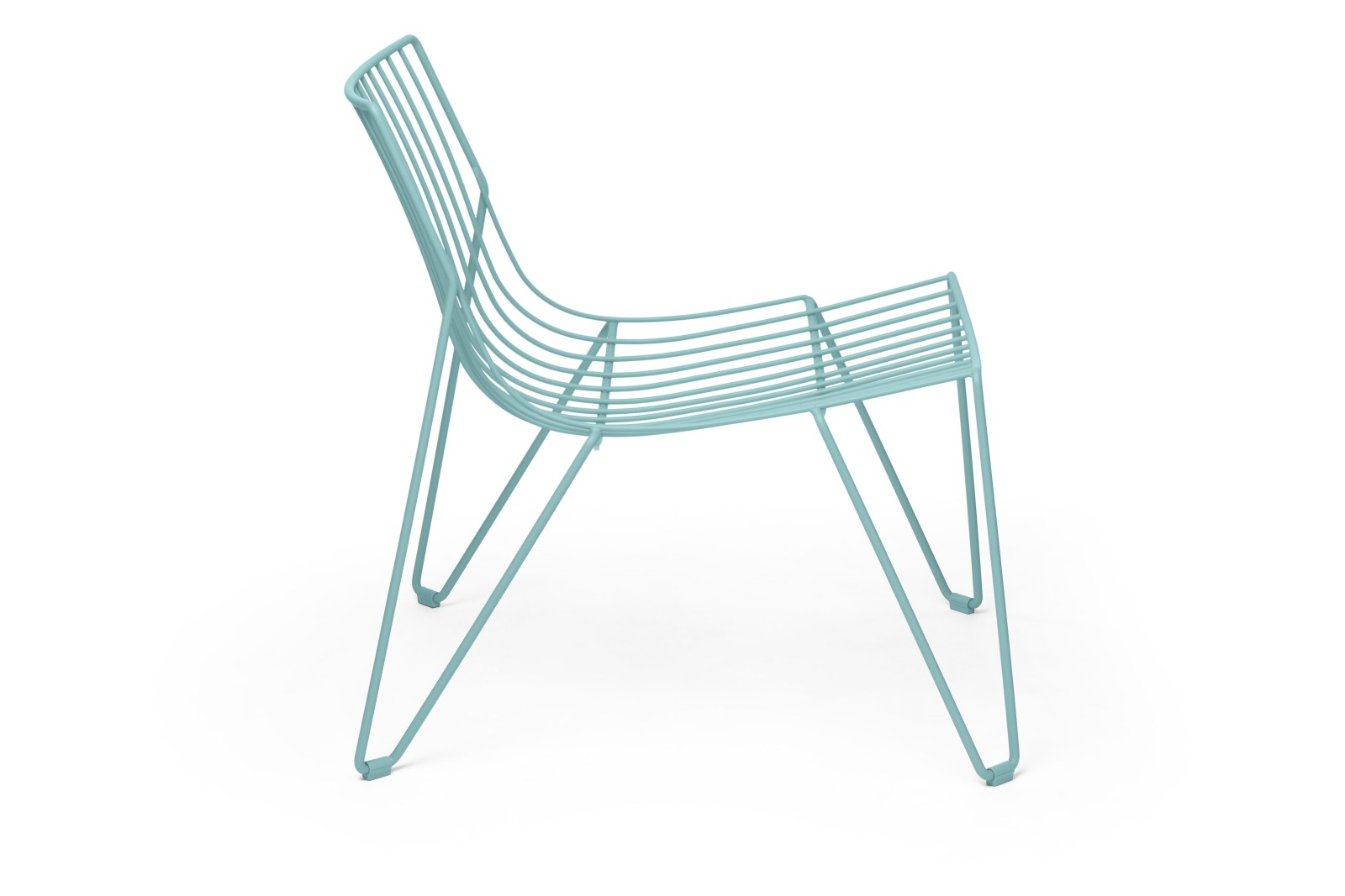 Tio Easy Chair Pastel Turquoise - RAL 6034