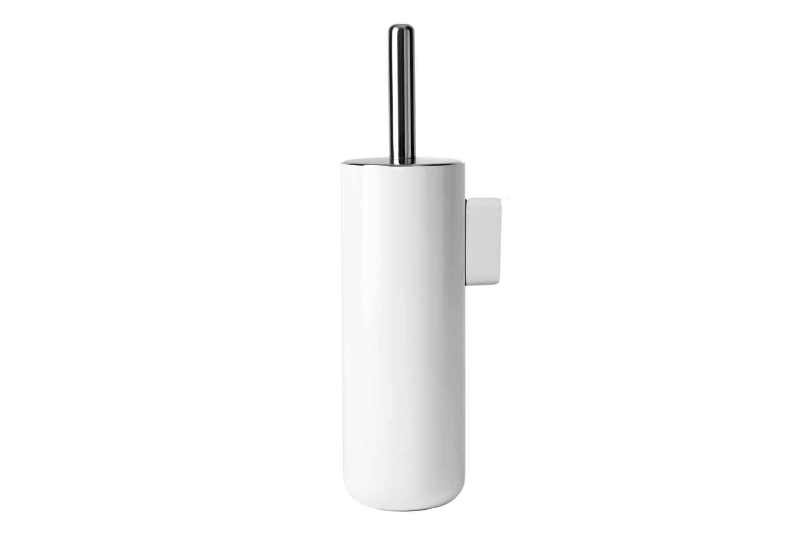 Toilet Brush Wall White