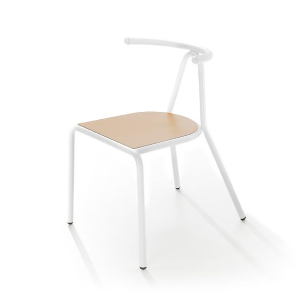 Toro Chair White