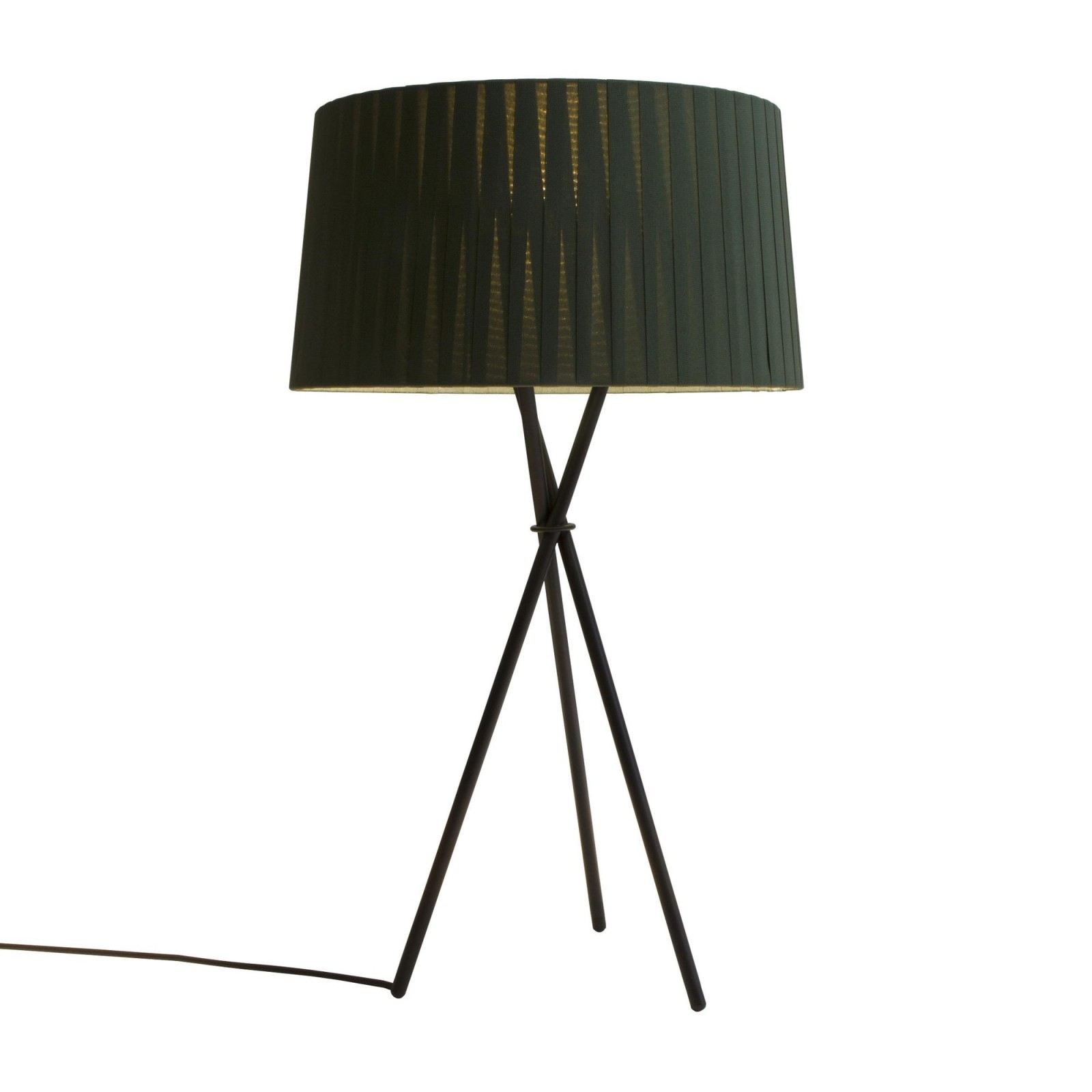 Trípode G6 Table Lamp Green Raw