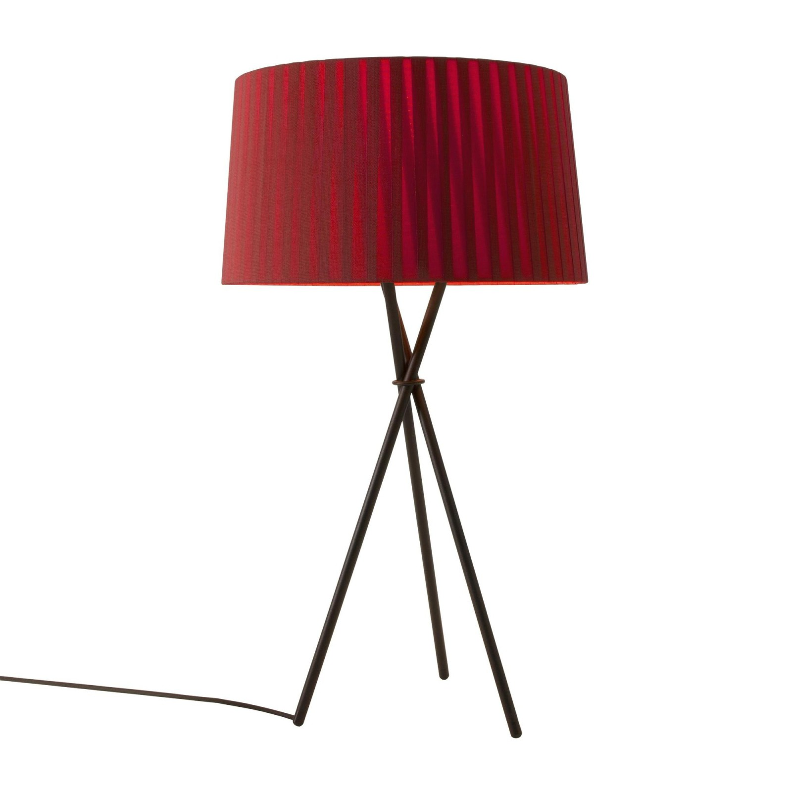 Trípode G6 Table Lamp Red-amber