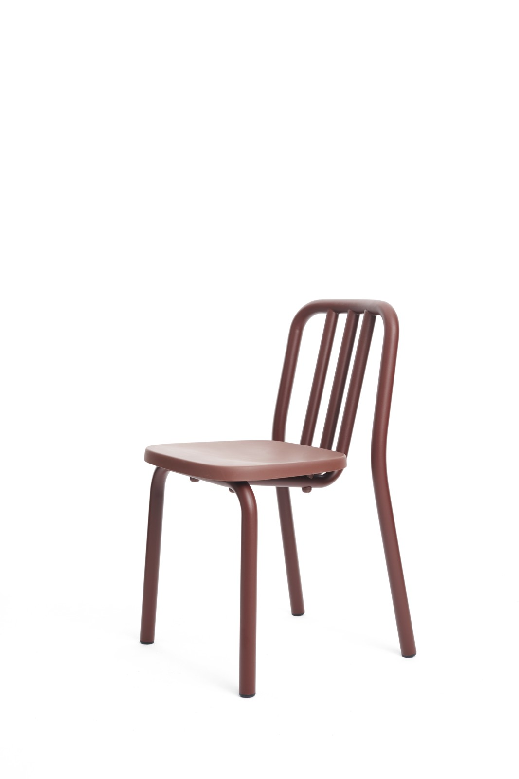 Tube Dining Chair Chestnut Brown