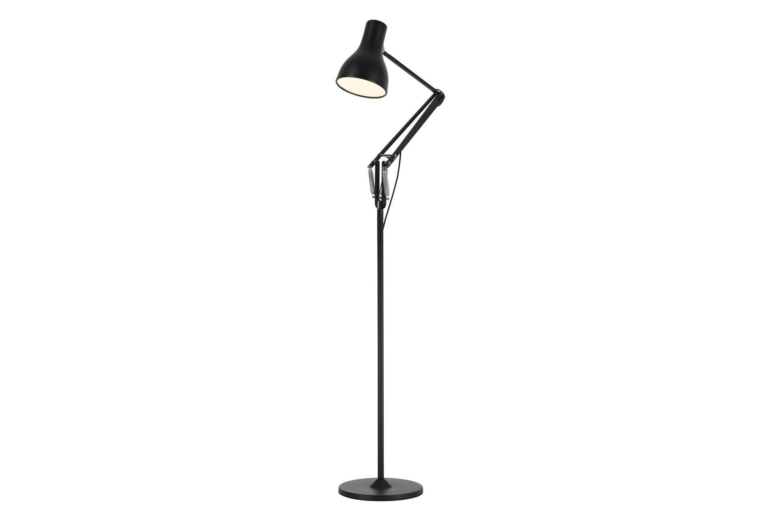 Type 75 Floor Lamp Jet Black