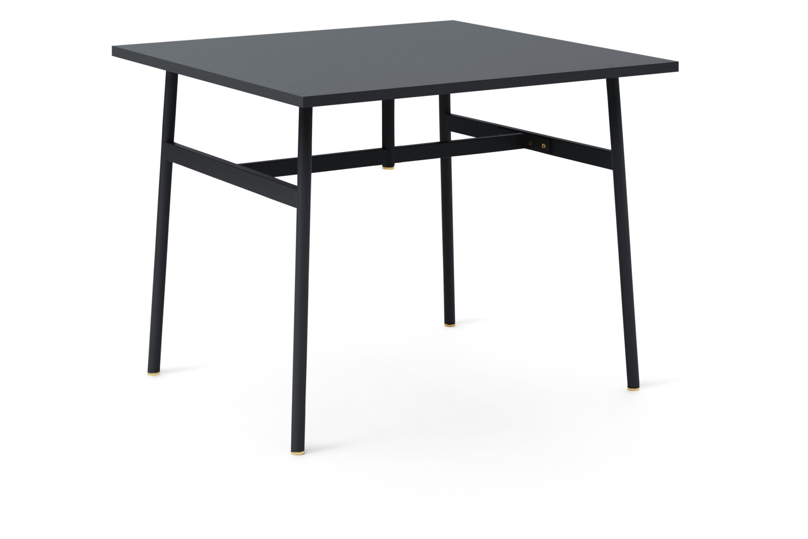 Union Rectangular Dining Table Black, 90