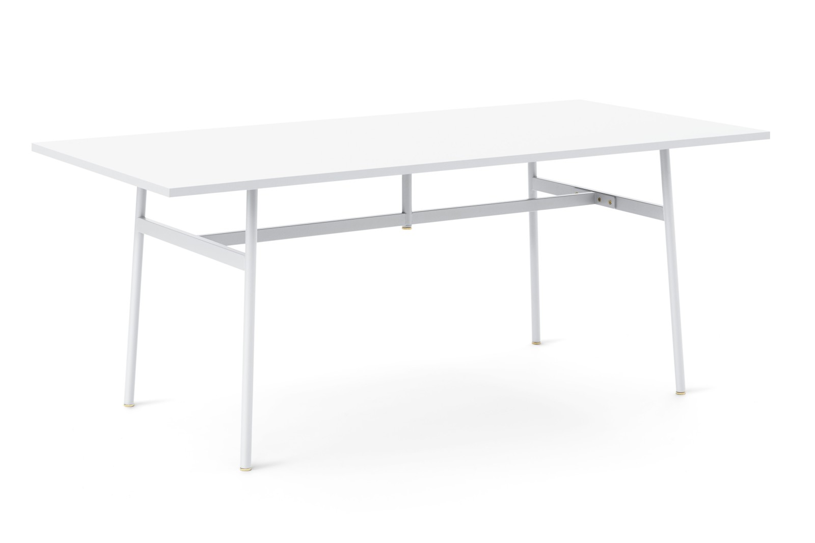 Union Rectangular Dining Table White, 180