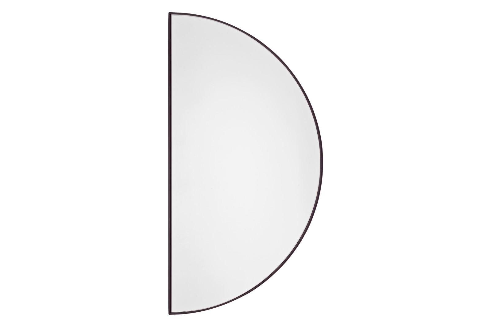 Unity Half Circle Mirror - Set of 2 Bordeaux