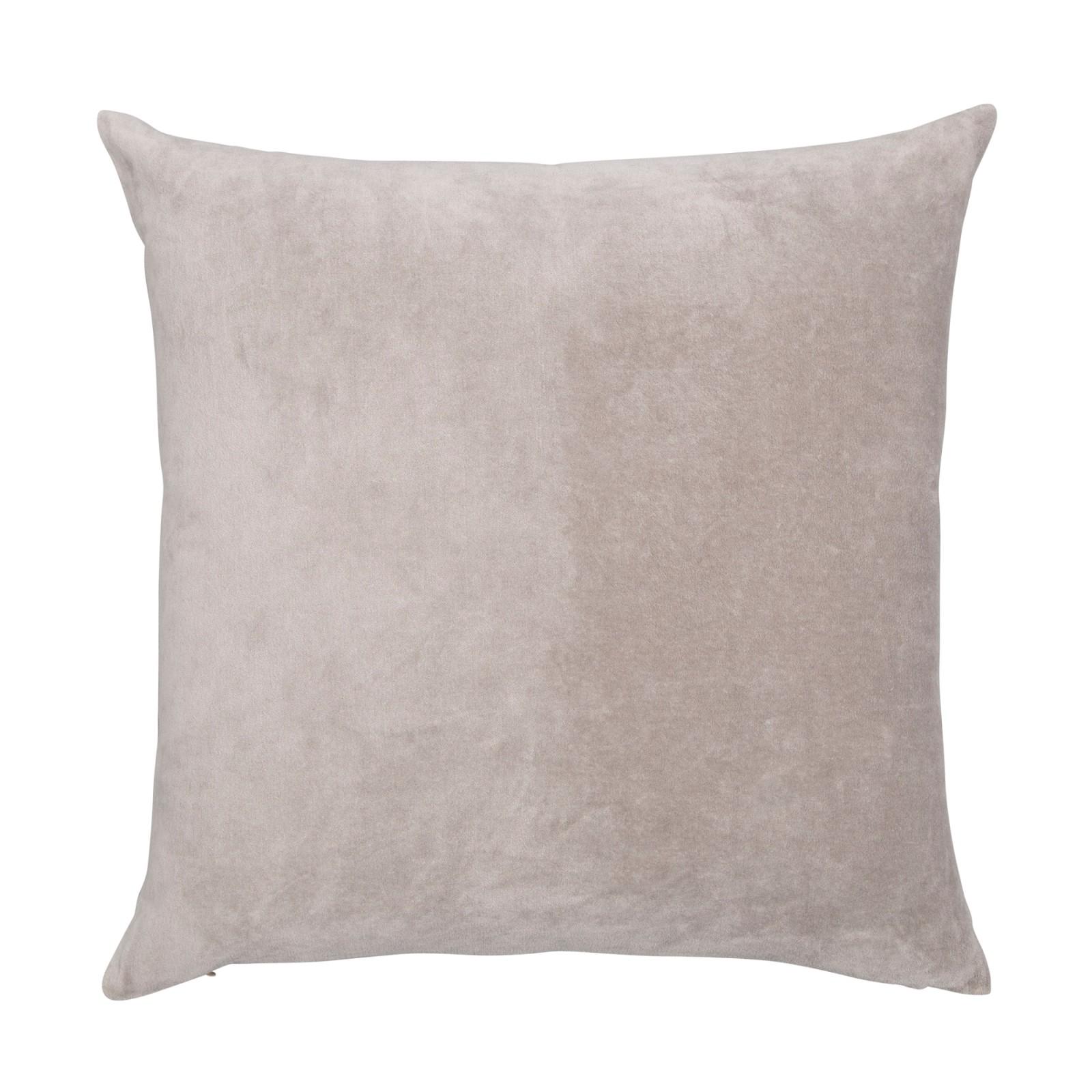 Velvet Linen Cushion Oyster
