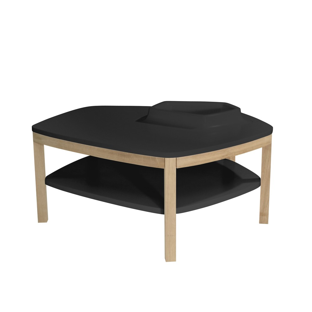 Volcane Pieds Coffee Table Black