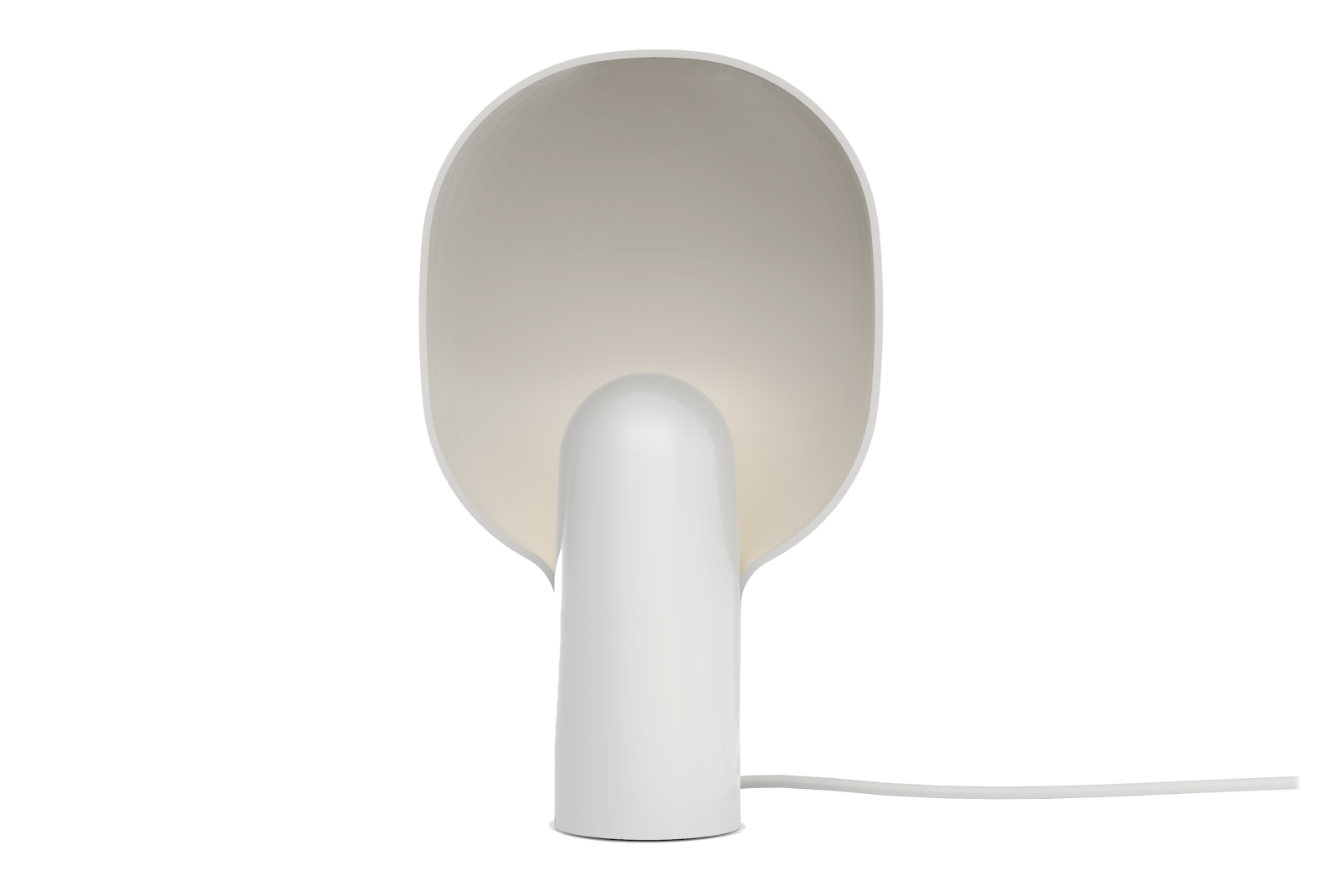Ware Table Lamp Milk White Acrylic