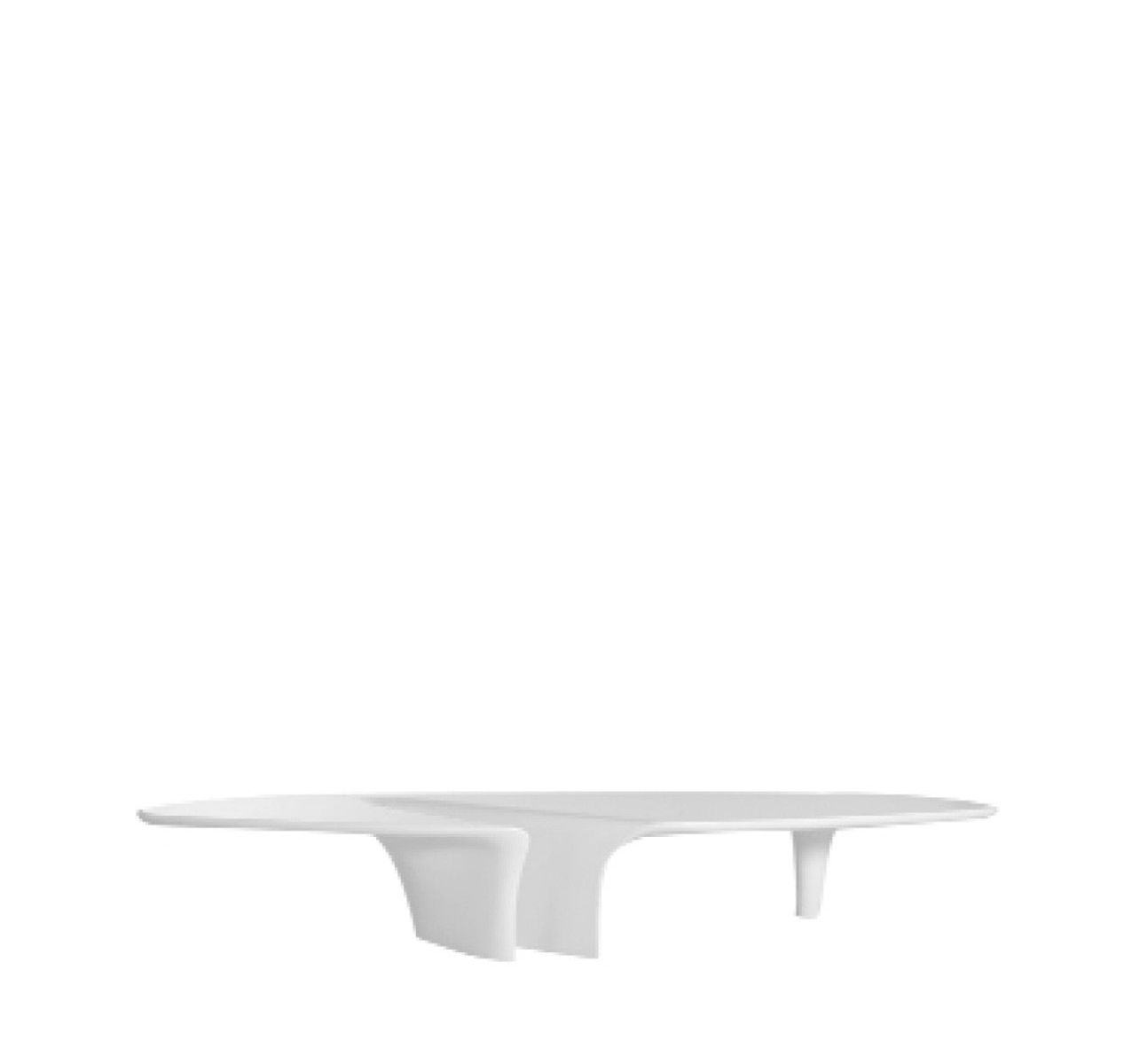 Waterfall Coffee Table White