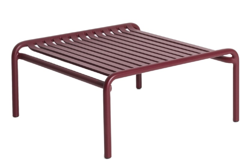 Week-End Coffee Table Burgundy, RAL 3005
