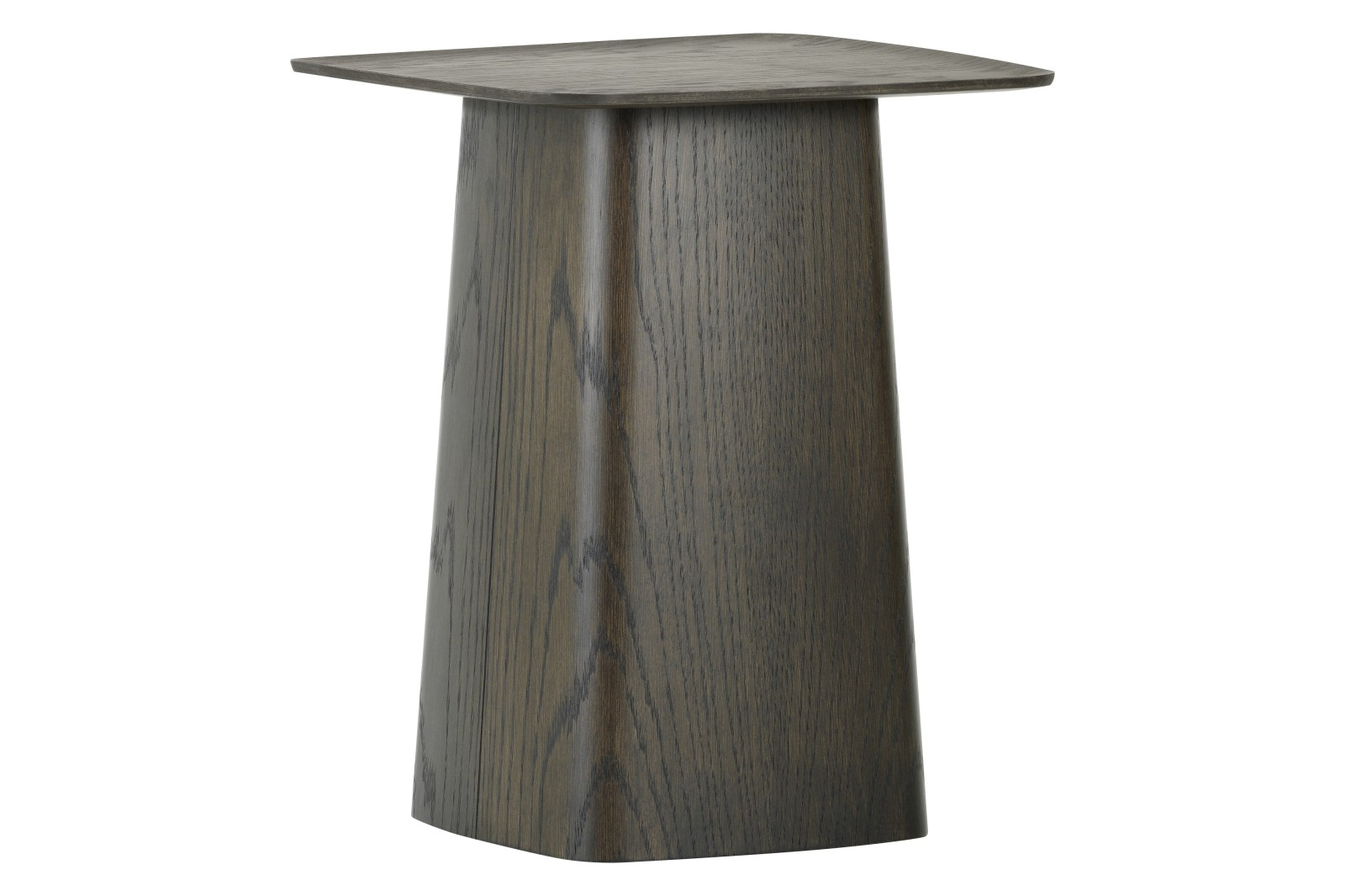 Wooden Side Table Dark Oak, Small