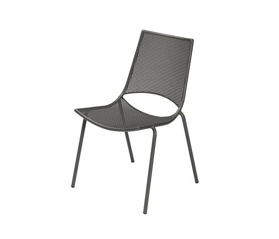 Ala Chair - Set of 4 Antique Iron