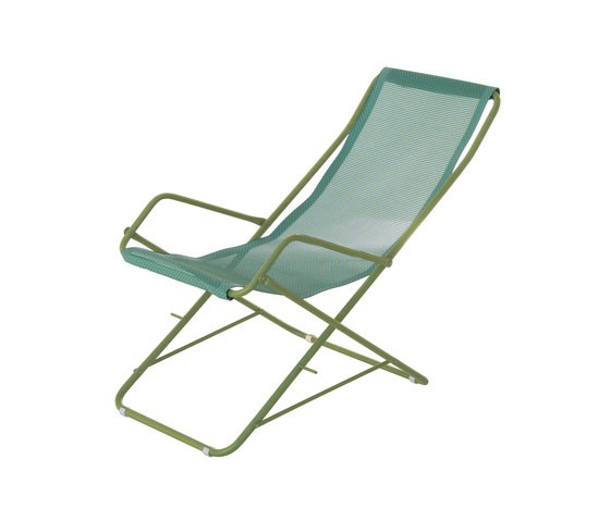 Bahama Deck Chair - Set of 4 Green/Mint