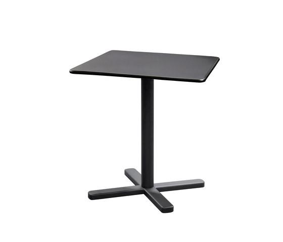 Darwin Folding Square Table-set of 2 Antique Iron 22