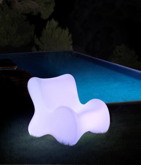 Doux Lounge Chair White