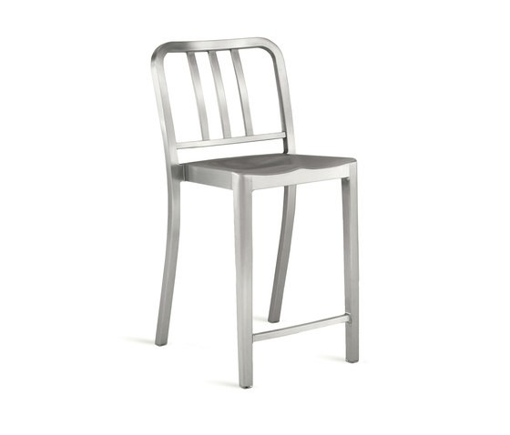 Heritage Stacking Counter Stool Hand Brushed