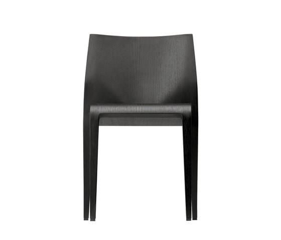 laleggera chair+ 316 black coloured stain