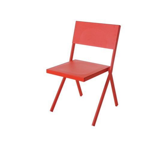 Mia chair - set of 4 Scarlet Red