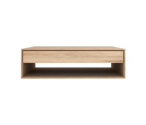 Oak Nordic coffee table 120 x 70 x 35 cm
