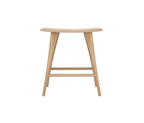Oak Osso stool high