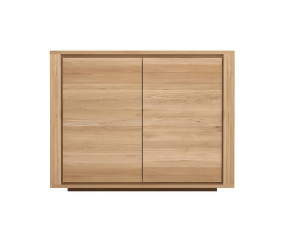 Oak Shadow sideboard - 2 doors