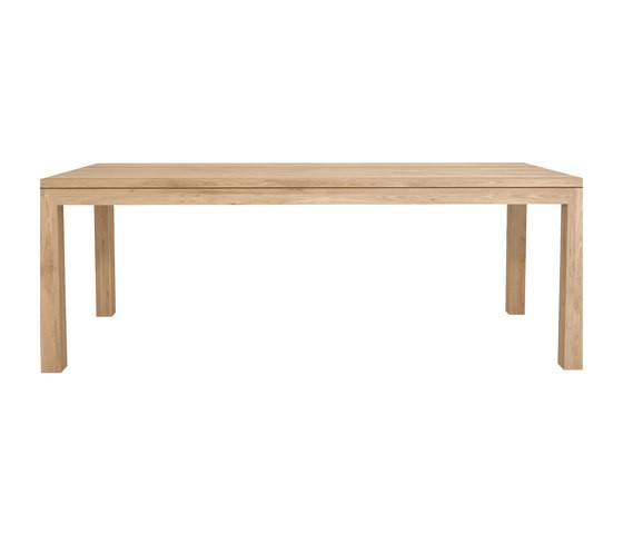Oak Straight dining table 220 x 105 x 78 cm