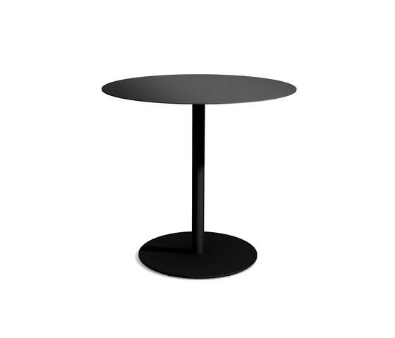 Odette Table 70 x 70 x 100 cm Black - Metal