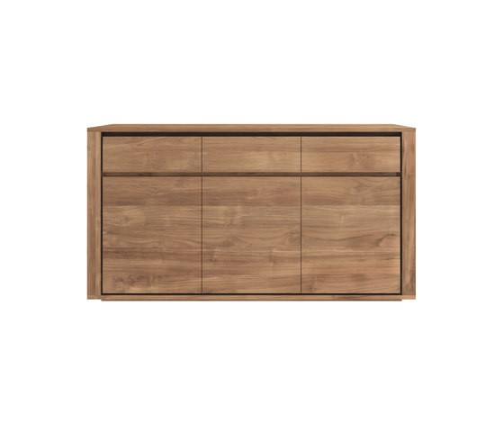 Teak Elemental sideboard 157 x 45 x 85 cm