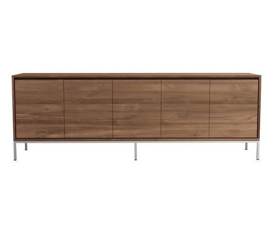 Teak Essential sideboard 245 x 47 x 85 cm