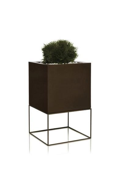 Vela Cubo Bronze