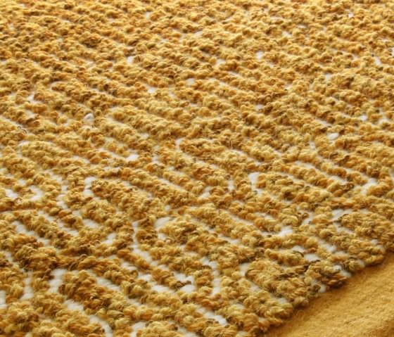 Zigzag golden rod, 200x300cm