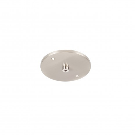 14.1 Single Pendant Grey, Shallow Canopy, LED