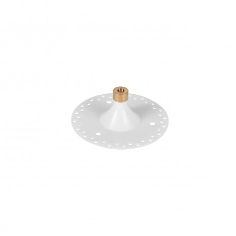 14.1m Single Pendant Mini Grey, Mini Innie Canopy, LED, Wet