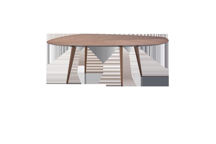 2317 Tweed Dining Table - 102 x 213 Natural Oakwood